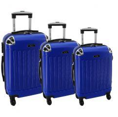 Cestovní kufry sada RGL 735 ABS BLUE L,M,S