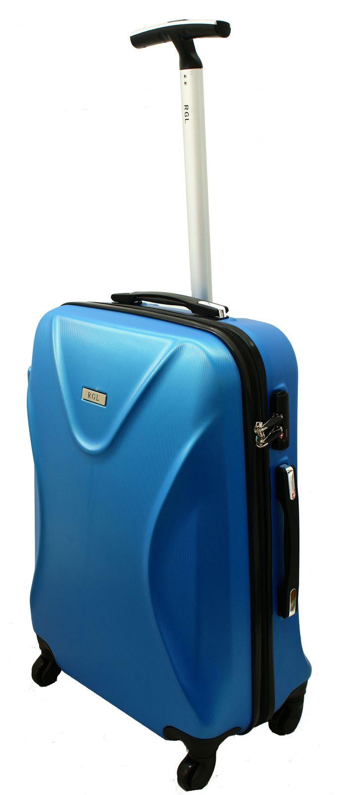 Cestovní kufr RGL 750 ABS+TSA BLUE M