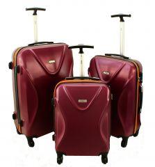 Cestovní kufry sada RGL 750 ABS+TSA VINE L,M,S