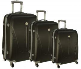 Cestovní kufry sada RGL 883 ABS GRAFIT L,M,S