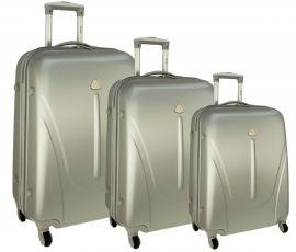 Cestovní kufry sada RGL 883 ABS SILVER L,M,S