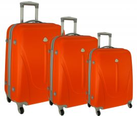Cestovní kufry sada RGL 883 ABS ORANGE L,M,S