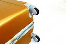 Cestovní kufr RGL 883 ABS SILVER malý XS E-batoh