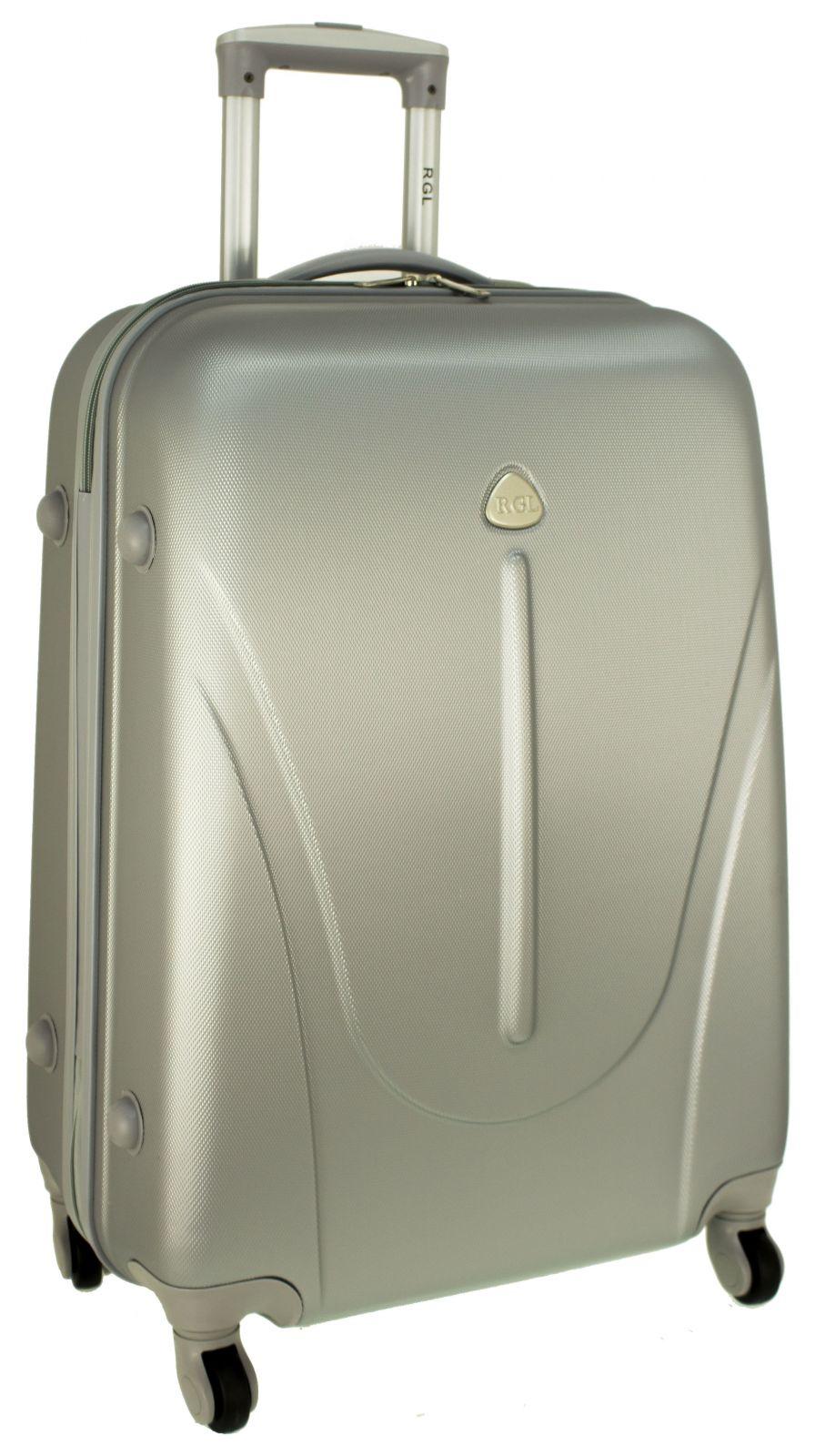 Cestovní kufr RGL 883 ABS SILVER malý S