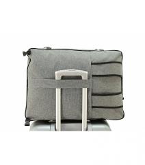 Příruční zavazadlo batoh pro WIZZAIR Priority 55x40x20 BLACK-GREEN RGL E-batoh