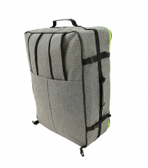 Příruční zavazadlo batoh pro WIZZAIR Priority 55x40x20 BLACK-BLUE RGL E-batoh