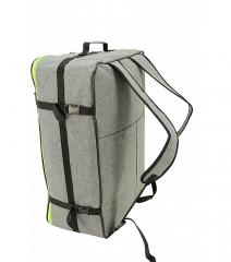 Příruční zavazadlo batoh pro WIZZAIR 55x40x20 BLACK-BLUE RGL E-batoh