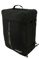 Příruční zavazadlo batoh pro WIZZAIR Priority 55x40x20 BLACK-GREY