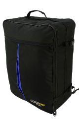 Příruční zavazadlo batoh pro WIZZAIR Priority 55x40x20 BLACK-BLUE