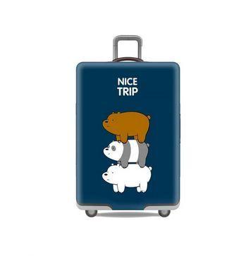 Obal na kufr NICE TRIP velký L