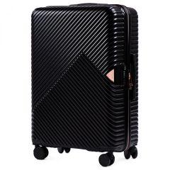 Cestovní kufr WINGS DOVE ABS+TSA BLACK velký L