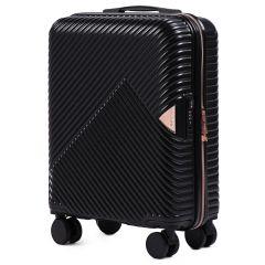 Cestovní kufr WINGS DOVE ABS+TSA BLACK malý S