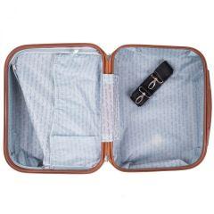 Kosmetický kufřík WINGS ALBATROS ABS SILVER BLUE E-batoh