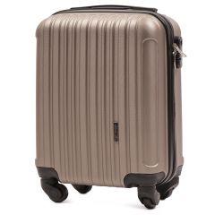 Cestovní kufr WINGS 2011 ABS CHAMPAGNE malý S