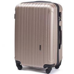 Cestovní kufr WINGS 2011 ABS CHAMPAGNE velký L