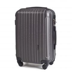 Cestovní kufr WINGS 2011 ABS DARK GREY malý S