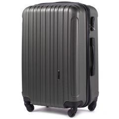 Cestovní kufr WINGS 2011 ABS DARK GREY střední M