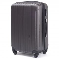 Cestovní kufr WINGS 2011 ABS DARK GREY velký L