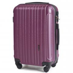 Cestovní kufr WINGS 2011 ABS DARK PURPLE malý S