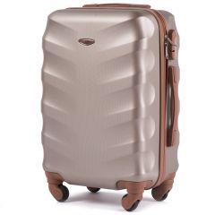 Cestovní kufr WINGS 402 ABS CHAMPAGNE malý xS