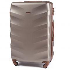 Cestovní kufr WINGS 402 ABS CHAMPAGNE velký L