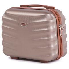 Kosmetický kufřík WINGS ALBATROS ABS CHAMPAGNE