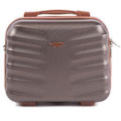 Kosmetický kufřík WINGS ALBATROS ABS COFFEE E-batoh
