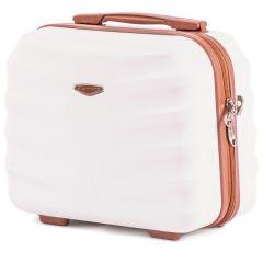 Kosmetický kufřík WINGS ALBATROS ABS DIRTY WHITE