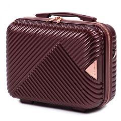 Kosmetický kufřík WINGS DOVE ABS DARK RED