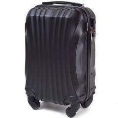 Cestovní kufr WINGS 159 ABS BLACK malý xS