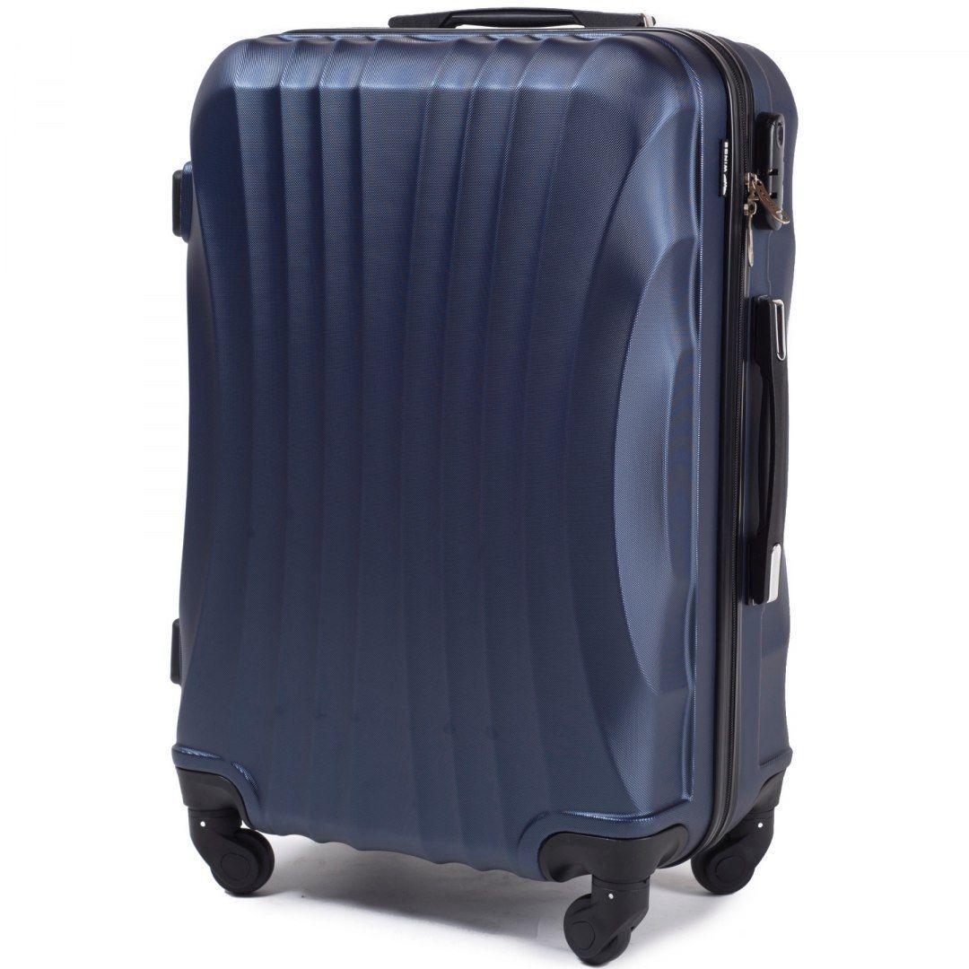 Cestovní kufr WINGS 159 ABS  BLUE malý S