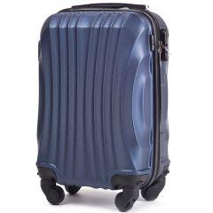 Cestovní kufr WINGS 159 ABS BLUE malý xS