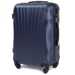 Cestovní kufr WINGS 159 ABS BLUE velký L
