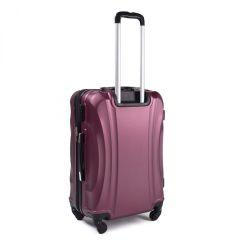 Cestovní kufr WINGS 159 ABS BURGUNDY malý S E-batoh