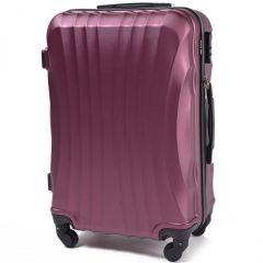 Cestovní kufr WINGS 159 ABS BURGUNDY malý S