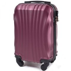 Cestovní kufr WINGS 159 ABS BURGUNDY malý xS