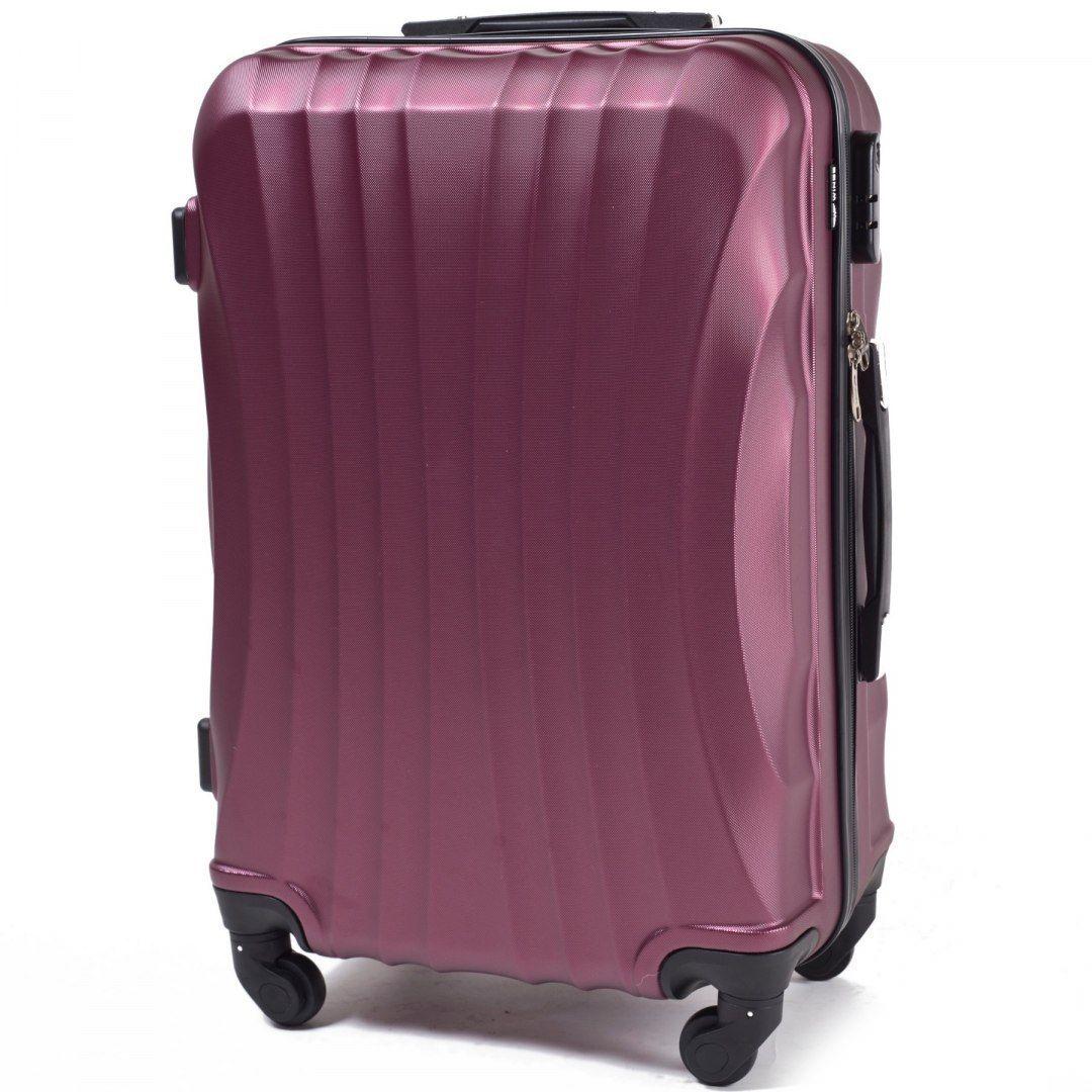 Cestovní kufr WINGS 159 ABS BURGUNDY střední M