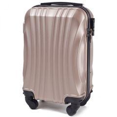 Cestovní kufr WINGS 159 ABS CHAMPAGNE malý xS