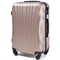 Cestovní kufr WINGS 159 ABS CHAMPAGNE střední M