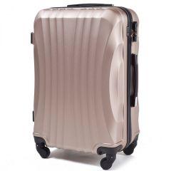 Cestovní kufr WINGS 159 ABS CHAMPAGNE velký L