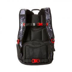 Meatfly Basejumper 4 Backpack + POUZDRO H - Numb Black E-batoh