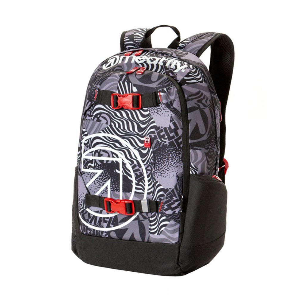 Meatfly Basejumper 4 Backpack + POUZDRO H - Numb Black