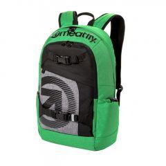 Meatfly Basejumper 4 Backpack + POUZDRO J - Heather Green, Black