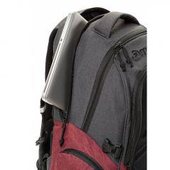 Meatfly Blackbird 2 Backpack B - Burgundy, Black E-batoh