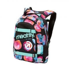 Meatfly Exile 3 Backpack + POUZDRO E - Blossom Black