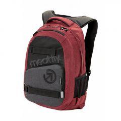 Meatfly Exile 3 Backpack + POUZDRO G - Burgundy, Black
