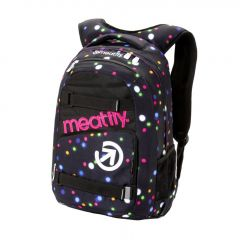 Meatfly Exile 3 Backpack + POUZDRO H - Lights Neon