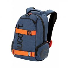 Nugget Bradley 2 Backpack D - Dark Heather Blue, Orange