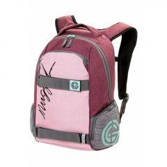 Nugget Bradley 2 Backpack G - Ht. Powder Pink, Ht. Grey