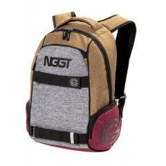 Nugget Bradley 2 Backpack H - Heather Sand, Heather Grey